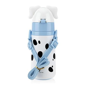 Dalmatian Stainless Steel Cup with Flip-it Straw (420ml) -Boy