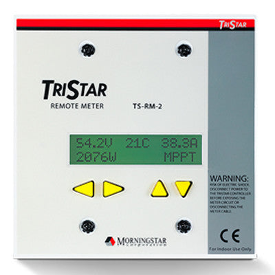 MORNINGSTAR - TRISTAR REMOTE METER - I&M Electric
