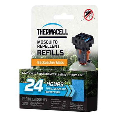 Mosquito Repellent Backpacker Mat-Only Refills