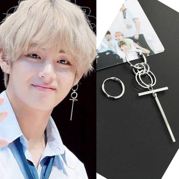 BTS Taehyung Earring - Free WorldWide Shipping