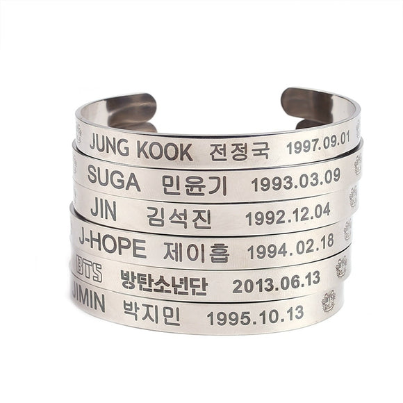 BTS Bias Bracelet - Free WorldWide Shipping