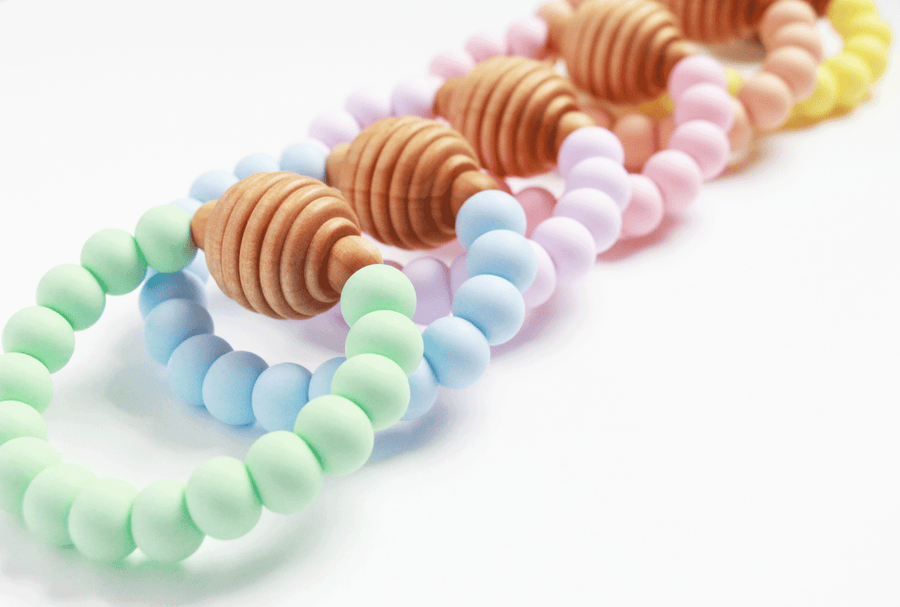 Spring Honeycomb Teether