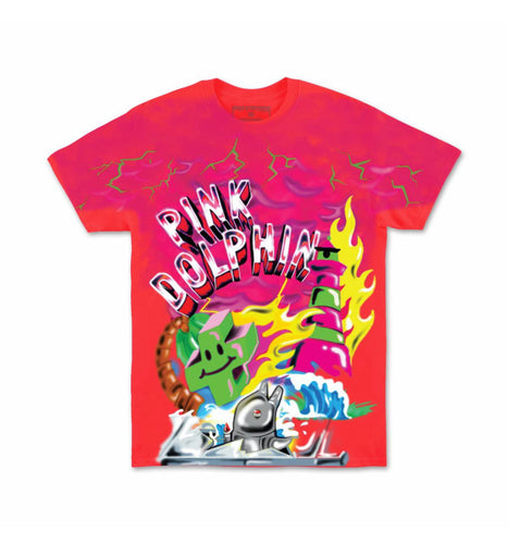 Superfuture Tee in Pink