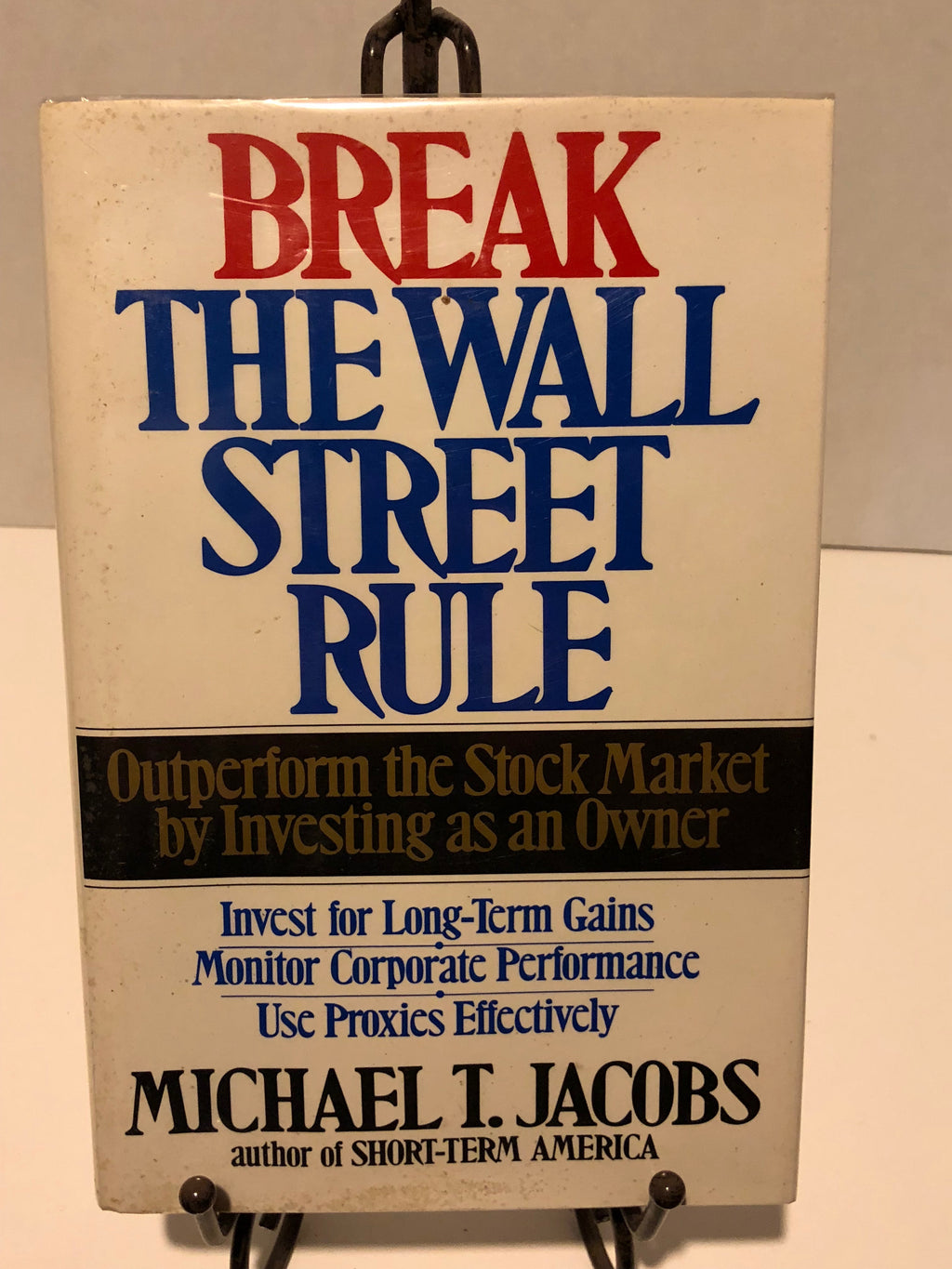 Break The Wall Street Rule: Outperform The Stock Market By Investing As An Owner