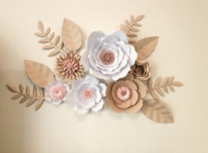 Giant Whimsical Paper Flowers