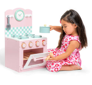 Honeybake Home oven and Hob (Pink) Le Toy Van now $130