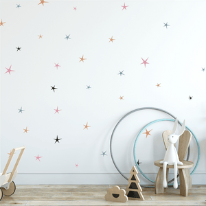 Sweet Stars Wall Decals