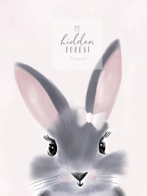 Little Miss Bunny -Fine Art Print
