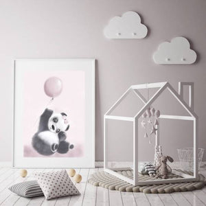 Little Miss Poppy Panda - Fine Art Print