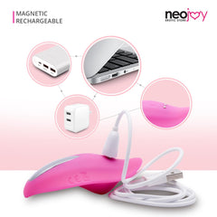 NeoJoy Leaf Vibrator - Pink | 9 Functions