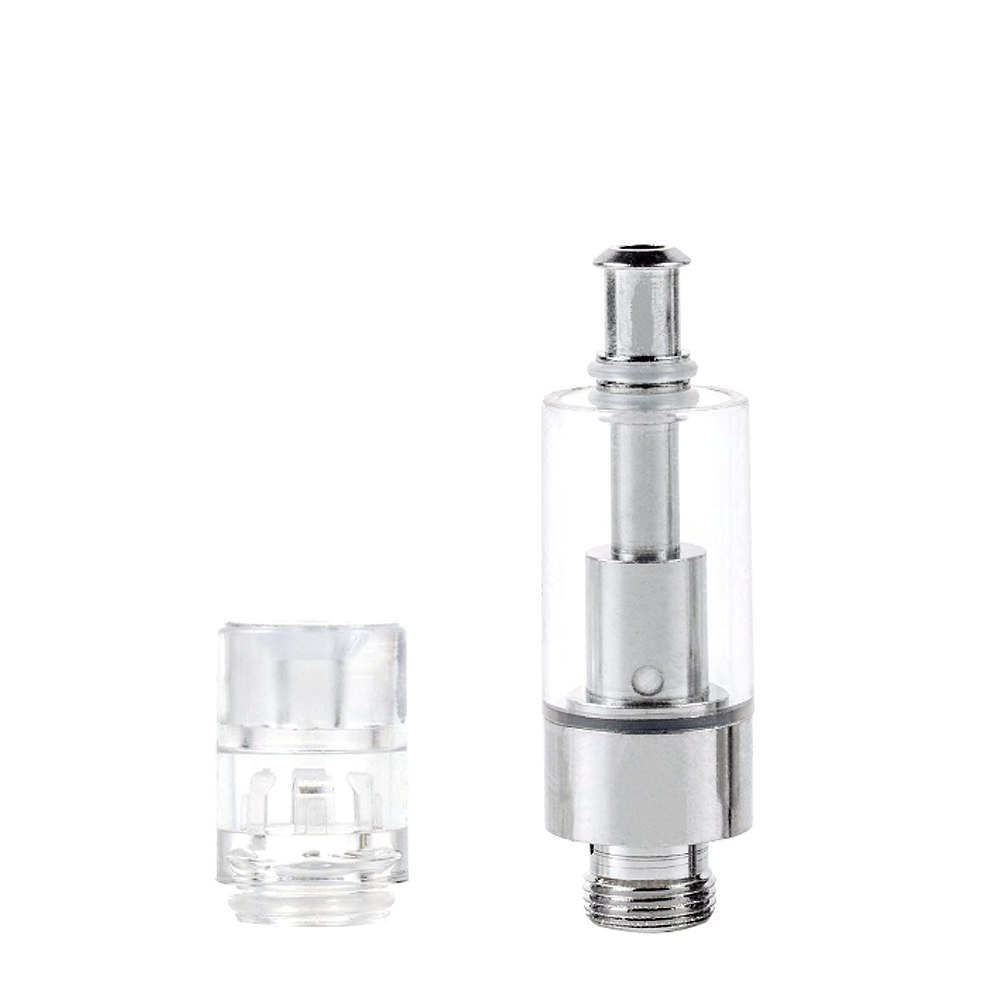 AVD® Glass Cartridge with Clear Eazy-Press Mouthpiece - Qty 100