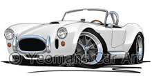 Load image into Gallery viewer, AC Cobra - Caricature Car Art Coffee Mug