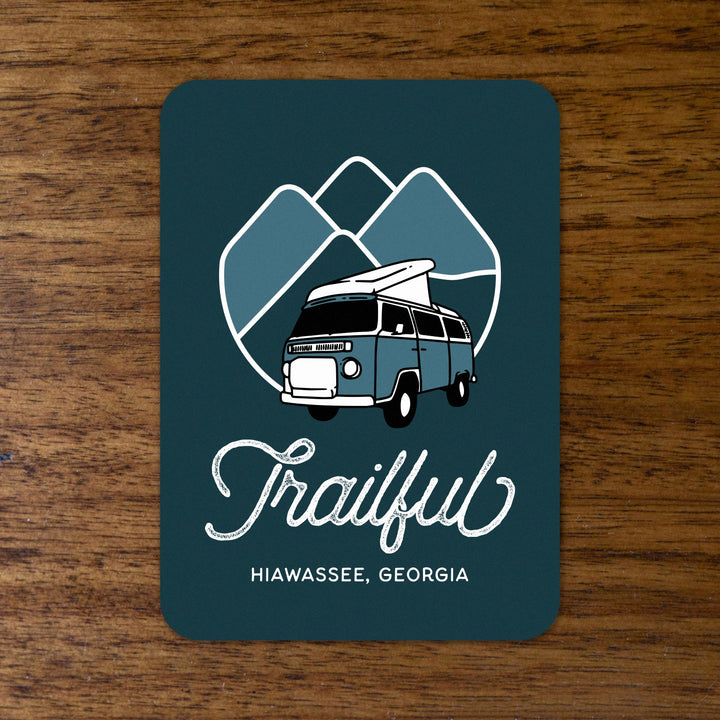 Trailful Mountain Adventures Sticker