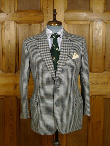 18/1691 vintage kilgour french & stanbury gun club check tweed sports jacket 40 short to regular