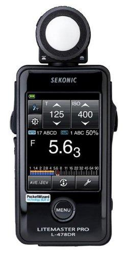 Sekonic Litemaster Pro L-478DR Photographic Light Meter - Available with the LensLockers Equipment Access Program (LEAP)