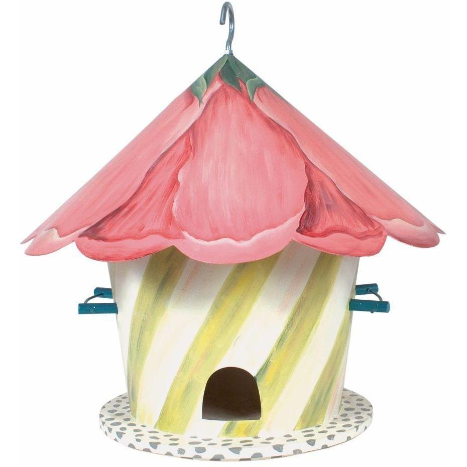 MacKenzie Childs Hollyhock Birdhouse