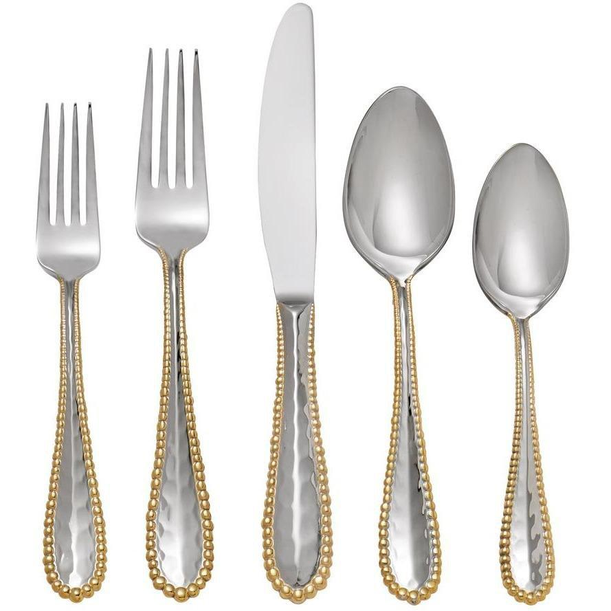 Michael Aram Molten Gold 5-Piece Flatware Set 325110