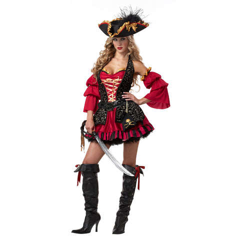 Spanish Pirate Female Costume