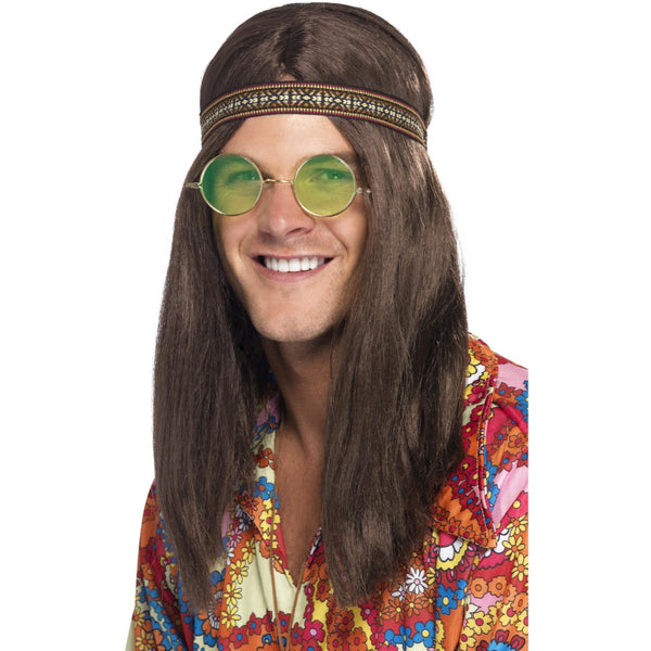 Mens Hippie Kit Wig