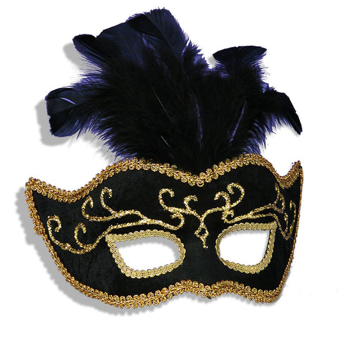 Mardi Grass Fancy Mask