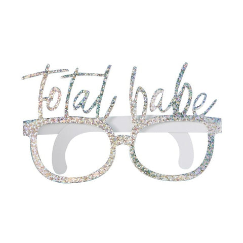 Good Vibes Fun Glasses Total Babe