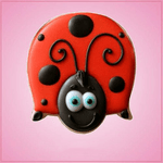 Red Ladybug Cookie Cutter