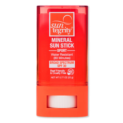 Mineral SPORT Sun Stick SPF-30 - | Sherwood Green Life best green tea skin care products, eco friendly skincare products, all natural non toxic skincare