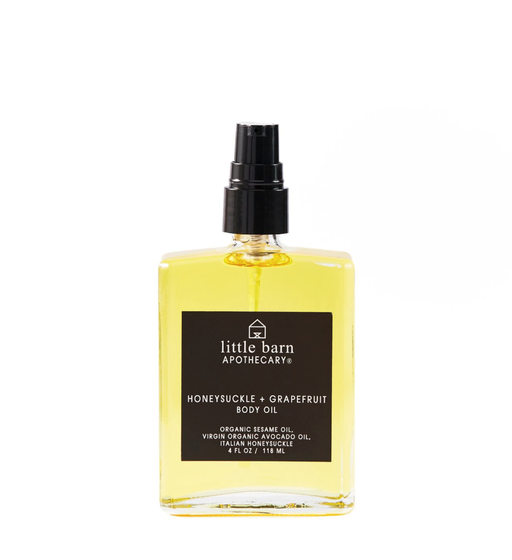 Honeysuckle + Grapefruit Body Oil - | Sherwood Green Life natural children's bath products, no silicone no paraben no sulfate shampoo, natural and non toxic personal care products