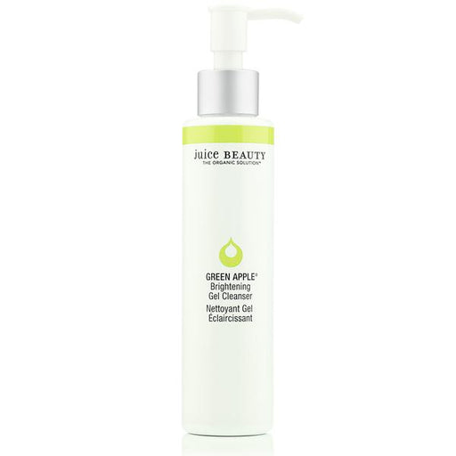 Green Apple Brightening Gel Cleanser - | Sherwood Green Life best green tea skin care products, eco friendly skincare products, all natural non toxic skincare