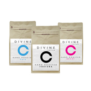 DIVINE BLENDS SELECTION PACK (3 UNIQUE COFFEES)