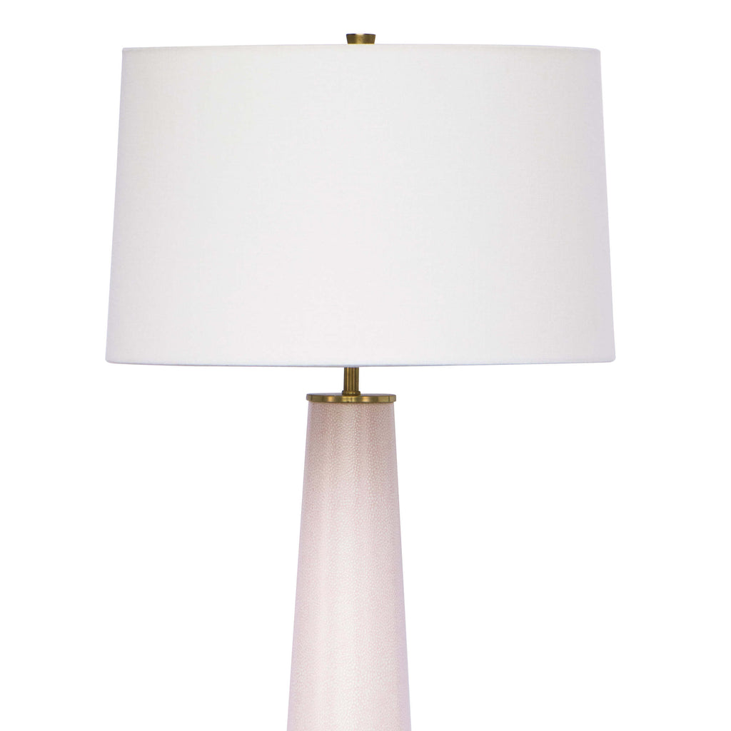 AUDREY CERAMIC TABLE LAMP (BLUSH)