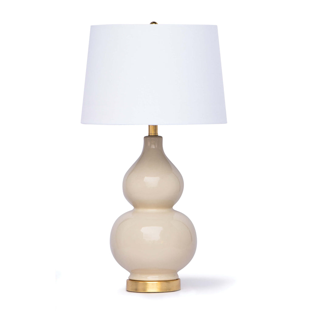 MADISON CERAMIC TABLE LAMP (IVORY)
