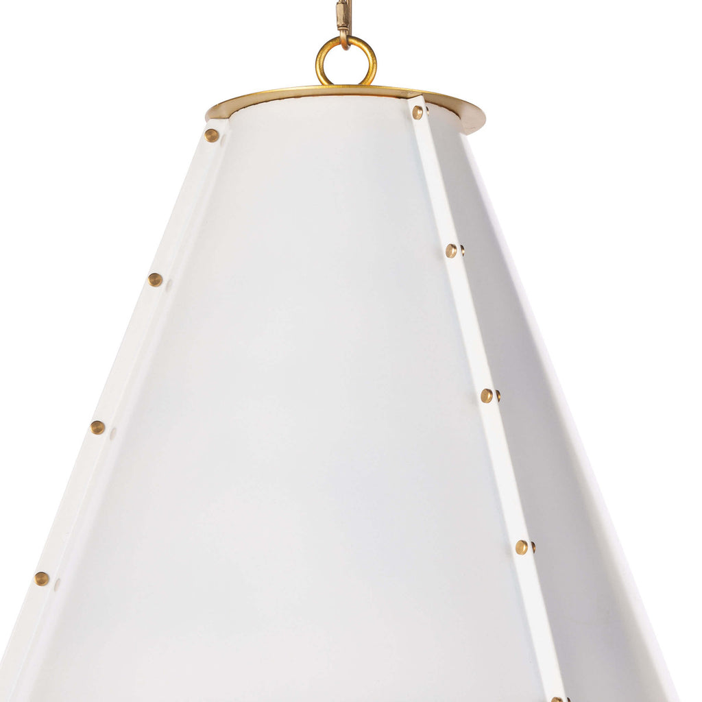 FRENCH MAID CHANDELIER SMALL (WHITE)