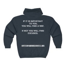 Load image into Gallery viewer, UWS Official Full Zip Hoodie