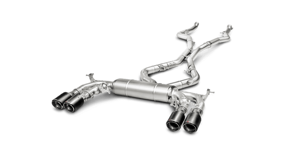 Akrapovic 15-18 BMW X6M (F85) Evolution Line Cat Back (Titanium) w/ Carbon Tips