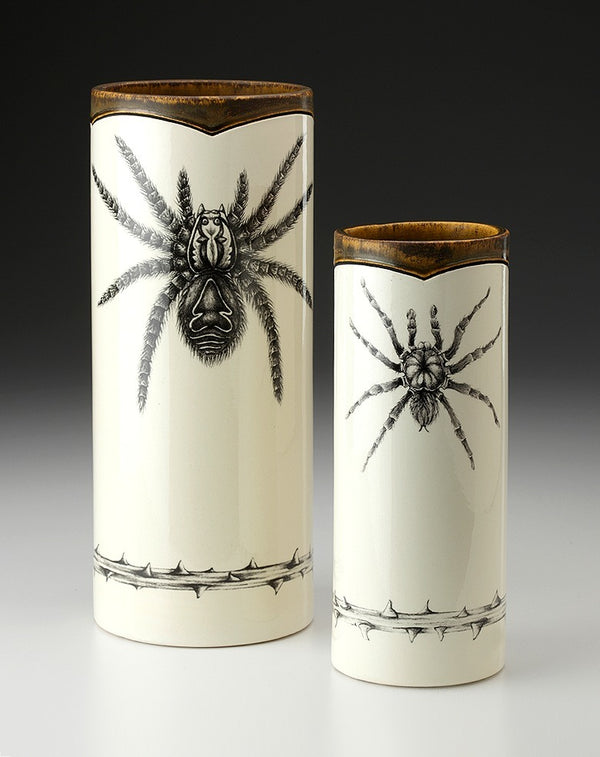 New! Tarantula Small Vases by Laura Zindel