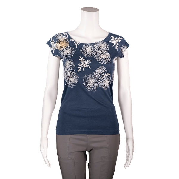 NEW! Denim Marigold T-Shirt by Umsteigen