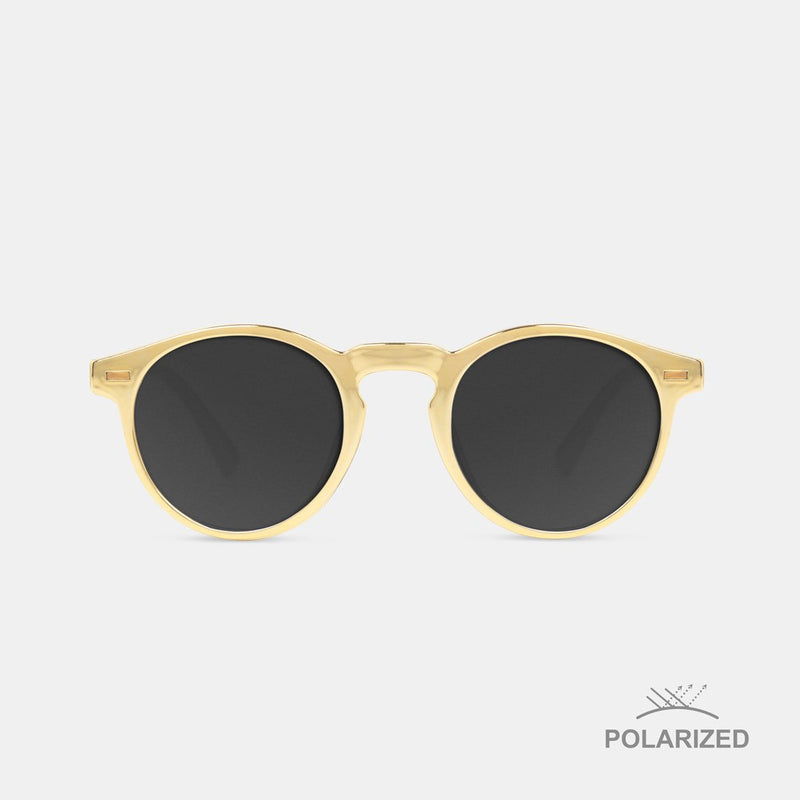 Ultra Light Gold / Black Polarized