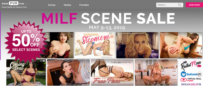 PVR.fun Celebrates Mother's Day with MILF Scene Sale