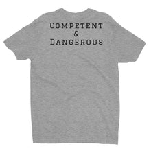 "Load image into Gallery viewer, ATP ""Competent & Dangerous"" Men's T-shirt w/ Full Color Logo"