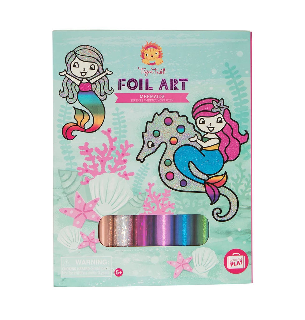 FOIL ART - MERMAIDS