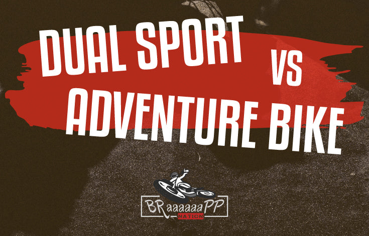 Basic differences between dual-sport and adventure bikes