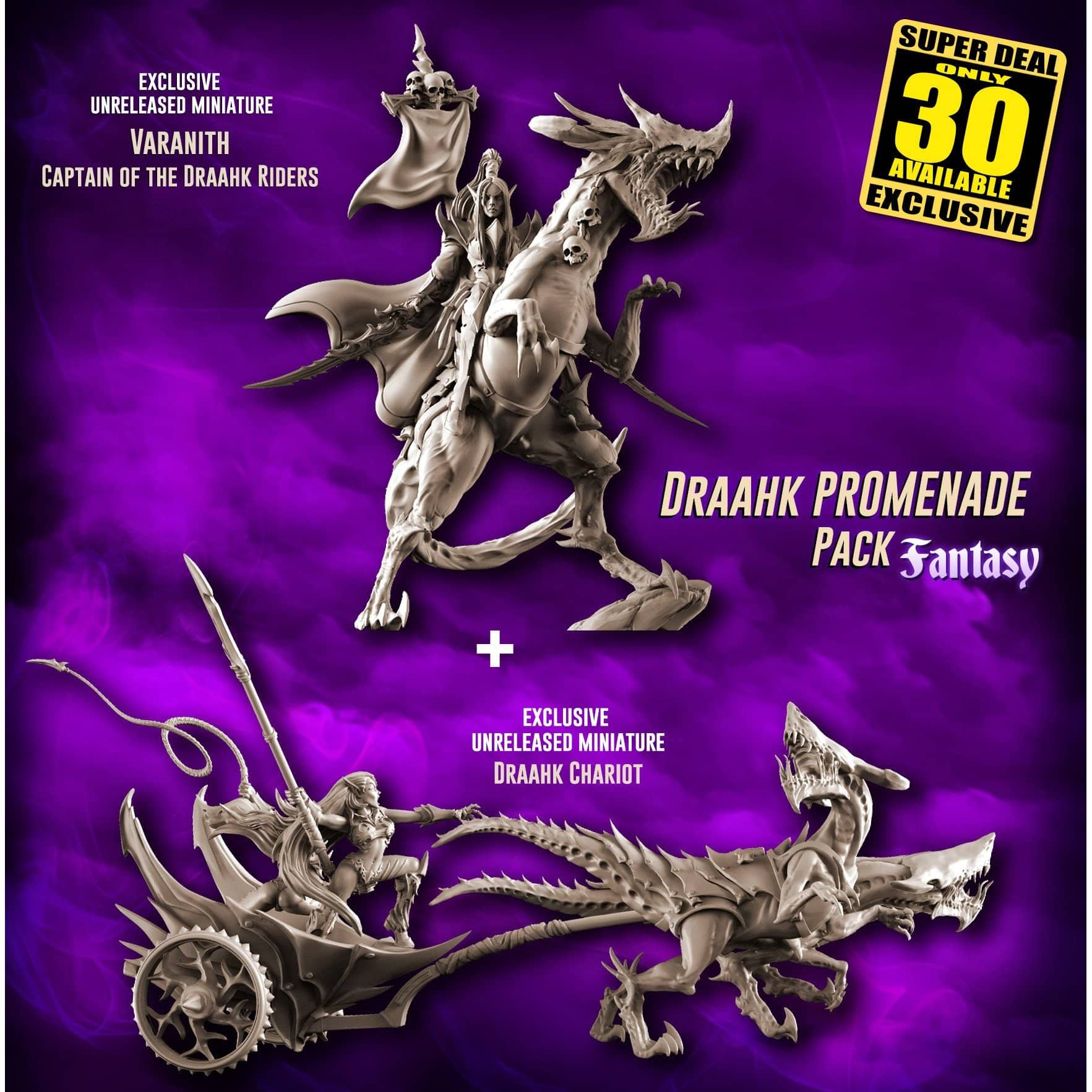 EXCLUSIVE Draahk PROMENADE Pack (DE - F)