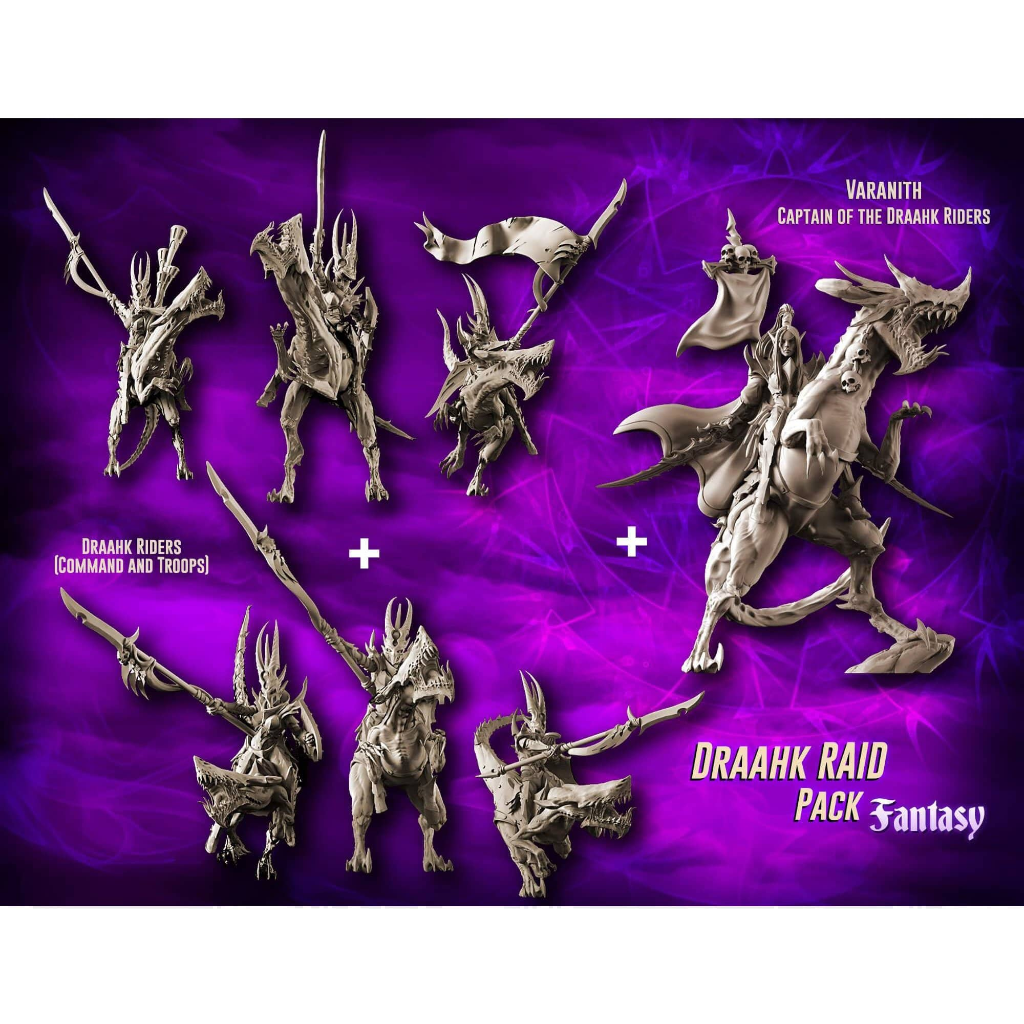 EXCLUSIVE Draahk RAID Pack (DE - F)