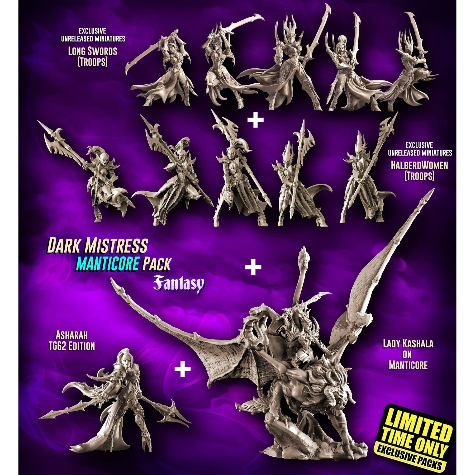 EXCLUSIVE Dark Mistress MANTICORE Pack (DE - F)