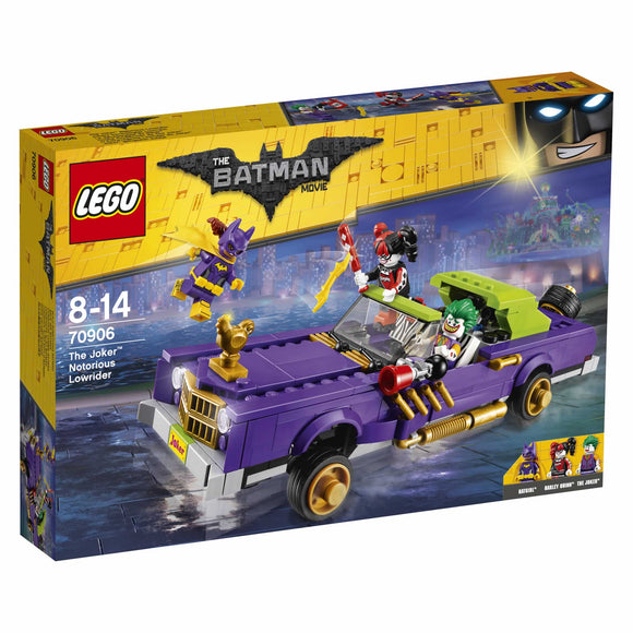 THE LEGO BATMAN MOVIE The Joker Notorious Lowrider 70906
