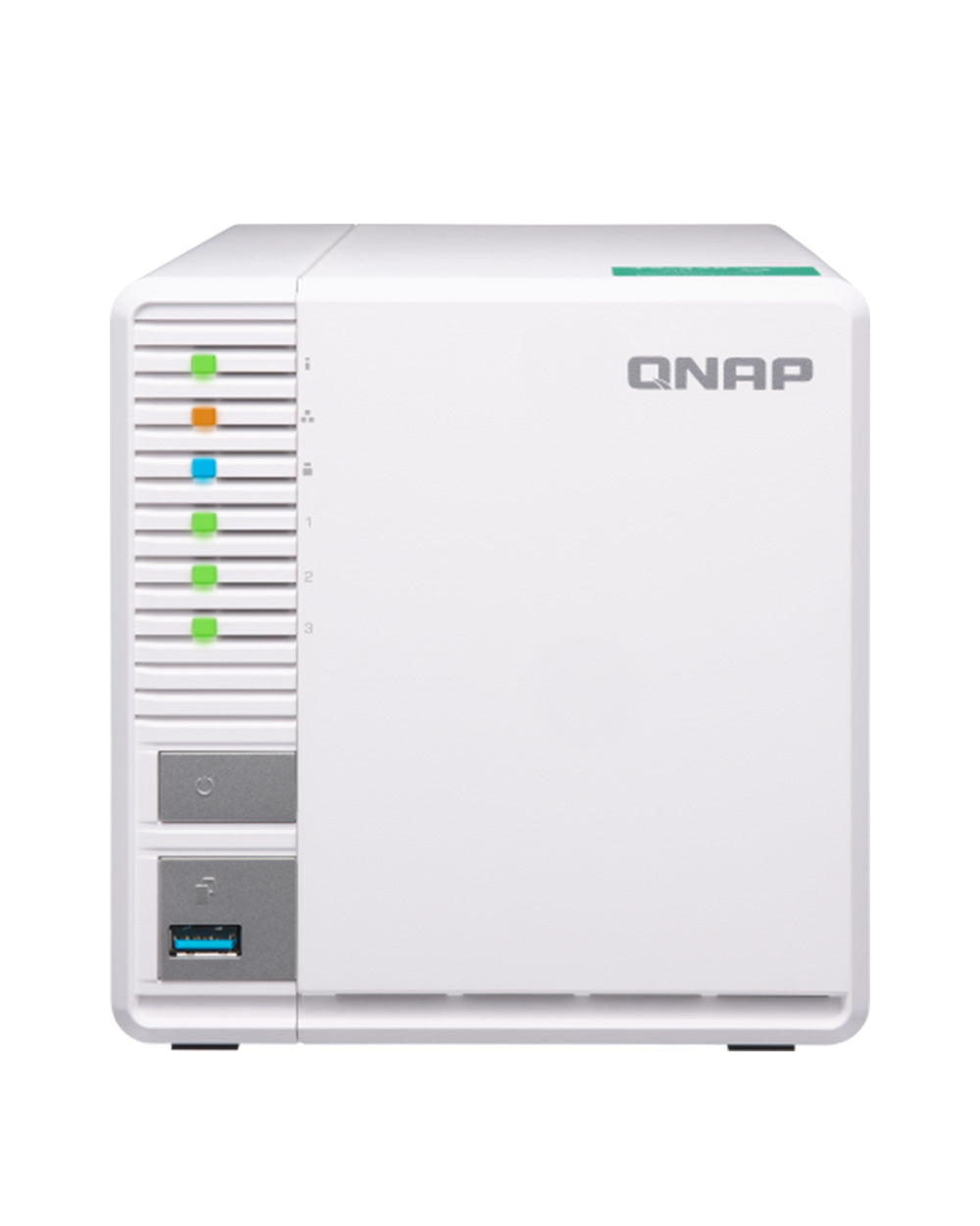 QNAP TS‑328 Diskless 3-Bay NAS
