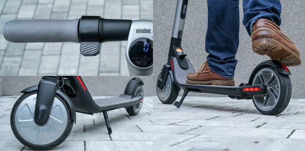 Es2 Ninebot by Segway collage