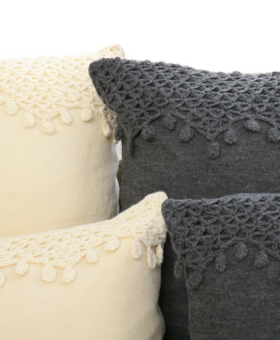 Camino Brushed Organic Alpaca Pillows