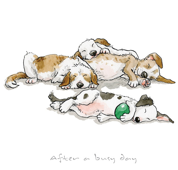 Anita Jeram Official Collectors Edition Prints A Dogs Life Guess How Much I Love You